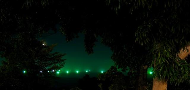 lights of the squid fishermen koh lanta thailand
