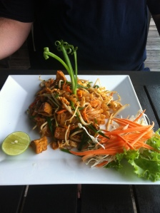 pad thai at Black Pearl Restaurant, Koh Lanta