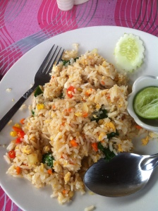 fried rice in Old Town, Koh Lanta
