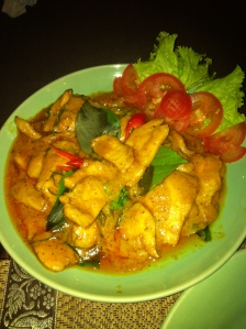 phanaeng curry at Mama's Kitchen, Koh Lanta