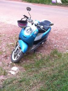 fino scooter koh lanta thailand