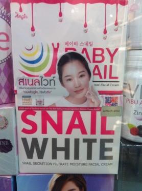 snail white thailand